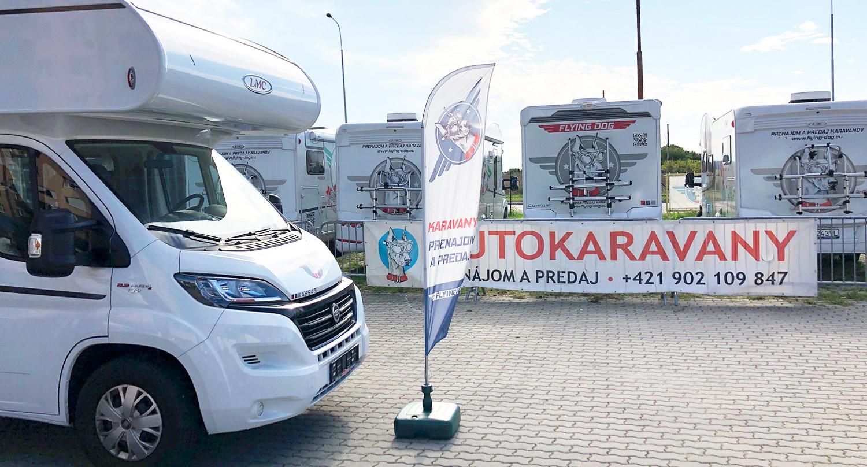Karavany predaj Bratislava